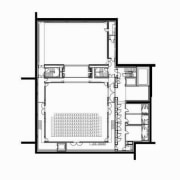 This is the Perth State Theatre, designed by area, design, floor plan, furniture, line, plan, product, product design, square, white