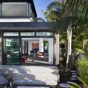 This new house was designed by Richard Furze architecture, home, house, property, real estate, black