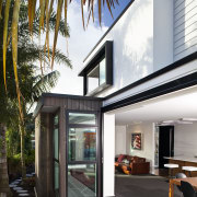 This new house was designed by Richard Furze architecture, facade, home, house, interior design, real estate, white
