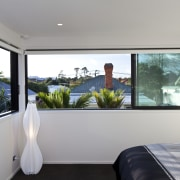 This new house was designed by Richard Furze house, interior design, property, real estate, room, window, gray