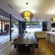 This house was designed by Kon Panagopoulos and ceiling, interior design, real estate