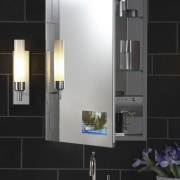 This bathroom fitting was designed by the Kohler angle, bathroom, bathroom accessory, bathroom cabinet, interior design, product design, black