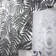 This wallpaper was supplied and designed by Pacific black, black and white, design, monochrome, monochrome photography, pattern, tree, wallpaper, white, white, gray