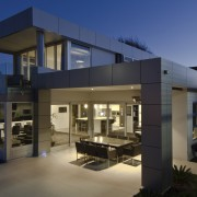 This house was designed and built by Signature architecture, home, house, property, real estate, black, blue