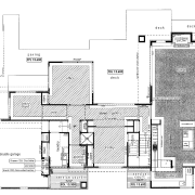 This house was designed and built by Signature architecture, area, black and white, design, diagram, drawing, elevation, floor plan, line, plan, product design, residential area, structure, technical drawing, text, white