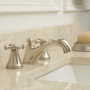 Sink faucet from TOTO USA - Sink faucet bathroom, bathroom sink, countertop, floor, flooring, plumbing fixture, product design, sink, tap, tile, white