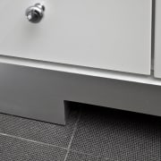 View of detail. - View of detail. - angle, floor, line, product design, tap, gray