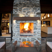 Warmington gas and wood fires are built for fireplace, hearth, home, interior design, living room, wood burning stove, black, gray