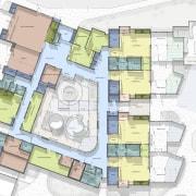 Floor plan - architecture | area | building architecture, area, building, elevation, floor plan, home, mixed use, neighbourhood, plan, property, real estate, residential area, suburb, urban design, white