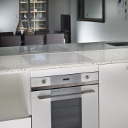 this is a smeg oven - this is cabinetry, countertop, cuisine classique, home appliance, kitchen, kitchen appliance, kitchen stove, major appliance, product design, gray