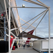 Structure of stadium. - Structure of stadium. - architecture, building, sky, structure, gray