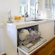 integrated dishwasher - integrated dishwasher - cabinetry | cabinetry, countertop, cuisine classique, furniture, home appliance, interior design, kitchen, room, table, gray