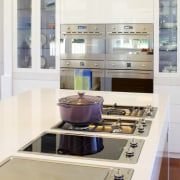 A variety of Smeg cooktop options are offered countertop, interior design, kitchen, product, product design, white