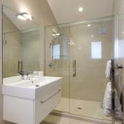Master berooms enquite. bathroom, bathroom accessory, floor, home, interior design, plumbing fixture, product design, room, sink, gray