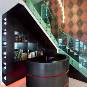 Mini-bar shot. - Mini-bar shot. - architecture | architecture, design, glass, interior design, product design, table, black, gray