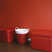 Red walls with red furniture. - Red walls angle, product, product design, red, table, toilet, red