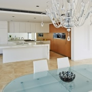 This home was designed and built by Starr countertop, home, interior design, product design, room, table, gray