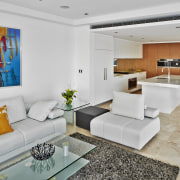 Contemporary family living by Starr Constructions - Contemporary home, interior design, living room, real estate, gray
