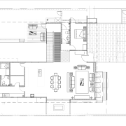 View of the plans for the kitchen. - angle, architecture, area, black and white, design, diagram, drawing, elevation, floor plan, home, house, line, plan, product, product design, schematic, structure, technical drawing, white