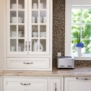Country style family kitchen - Country style family cabinetry, countertop, cuisine classique, cupboard, furniture, home, kitchen, shelf, shelving, window, white