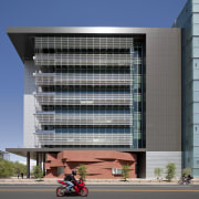 Arizona State University Interdisciplinary Science and Technology Building apartment, architecture, building, commercial building, condominium, corporate headquarters, daytime, elevation, facade, headquarters, metropolitan area, mixed use, residential area, sky, urban area, window, gray