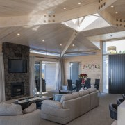 Lockwood Home built by Peter Richards - Lockwood ceiling, daylighting, estate, house, interior design, living room, lobby, real estate, gray