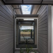 Lockwood Home built by Peter Richards - Lockwood daylighting, facade, home, house, siding, window, black, gray
