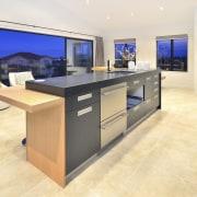 Yellowfox exterior and interior design project - Yellowfox countertop, floor, flooring, furniture, interior design, kitchen, property, real estate, table, white, orange