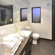 Yellowfox exterior and interior design project - Yellowfox bathroom, interior design, real estate, room, white