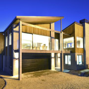 Yellowfox exterior and interior design project - Yellowfox architecture, facade, home, house, property, real estate, blue