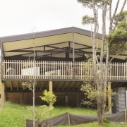 City meets country at Karaka Lakes - City cottage, home, house, outdoor structure, property, real estate, white, brown