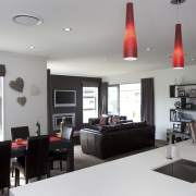 Palliside and Stoanz systems set off Stonewood home interior design, property, real estate, gray