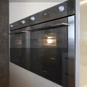 To ensure the home is well equipped for glass, home appliance, gray, black