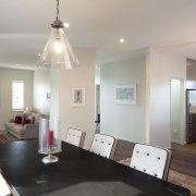 Landmark Homes show home at Karaka Lakes - ceiling, floor, home, house, interior design, living room, property, real estate, room, gray