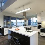 Contemporary home by Coast Papamoa - Contemporary home countertop, interior design, kitchen, real estate, gray