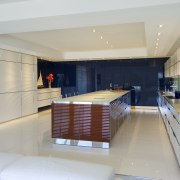 This new kitchen designed by Roar Vaernes of apartment, architecture, house, interior design, real estate, gray