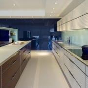 Now you see it, now you dont  countertop, interior design, kitchen, yacht, gray