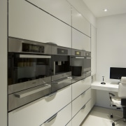 Urban Kitchen with a point of difference -Brian cabinetry, floor, interior design, kitchen, product design, gray