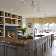 This traditional kitchen remodeling project by Rill Architects cabinetry, ceiling, countertop, cuisine classique, estate, home, interior design, kitchen, real estate, room, gray