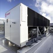 GHD benefits from HVAC by McAlpine Hussmann and trailer, gray