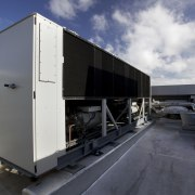 GHD benefits from HVAC by McAlpine Hussmann and technology, trailer, transport, vehicle, gray, black