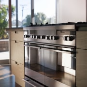 Chefs choice  Natalie Du Bois chooses Fisher cabinetry, countertop, furniture, home appliance, kitchen, kitchen stove, white