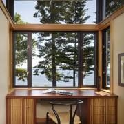 Transparent modern new home - Transparent modern new architecture, door, furniture, home, house, interior design, real estate, window, wood, brown
