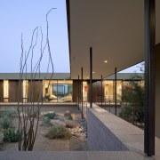 Minimalist desert new house - Minimalist desert new architecture, building, facade, home, house, real estate, window, brown, gray