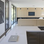 Minimalist desert new house cabinetry, countertop, floor, interior design, kitchen, property, real estate, room, gray