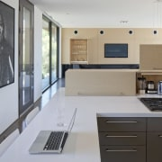Minimalist desert new house cabinetry, countertop, interior design, kitchen, real estate, room, gray