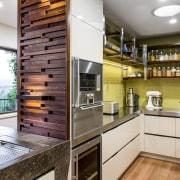 Modern kitchen for two cooks - Modern kitchen cabinetry, countertop, cuisine classique, home appliance, interior design, kitchen, white