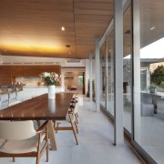 The interiors and furnishings  of this home architecture, house, interior design, real estate, table, gray, brown