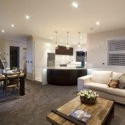 Living Room - Living Room - ceiling | ceiling, home, interior design, living room, real estate, room, orange