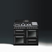Freestanding cookers from Smeg highlight a significant design electronic instrument, electronics, gas stove, product, product design, black
